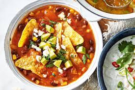 zdjęcie zupy meksykańskiej do artykułu o jej kaloryczności