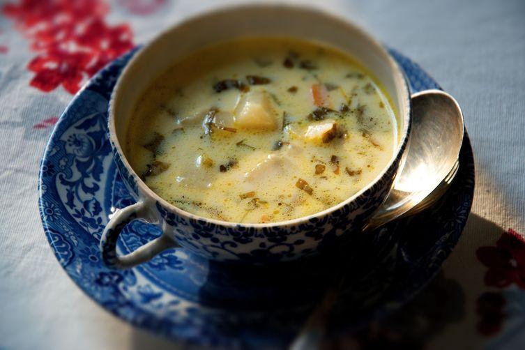 zdjęcie zupy szczawiowe do artykułu o jej kaloryczności