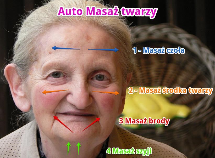W jaki sposób wykonać automasaż twarzy? Artykuł domowe sposoby na zmarszczki