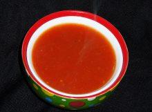 kaloryczności zupy pomiodorowej