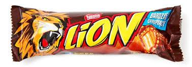 Ile kalorii ma baton lion?