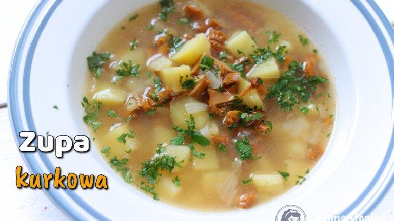 Ile kalorii ma porcja zupy kurkowej