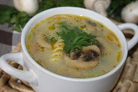 zupa pieczarkowa - ile kalorii zawiera 100 gramow produktu